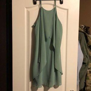 Seafoam green dress